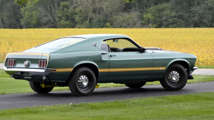 1969 Ford Mustang Mach 1 19