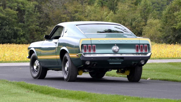 1969 Ford Mustang Mach 1 20