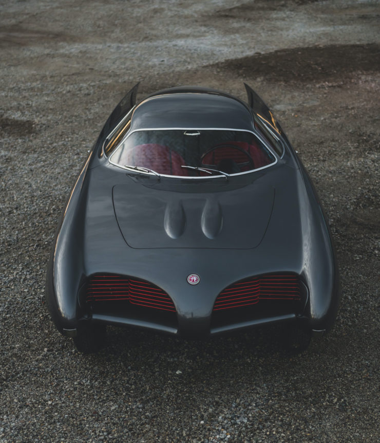Alfa Romeo Berlina Aerodinamica Tecnica BAT 5 Front
