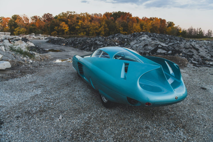 Alfa Romeo Berlina Aerodinamica Tecnica BAT 7 Back