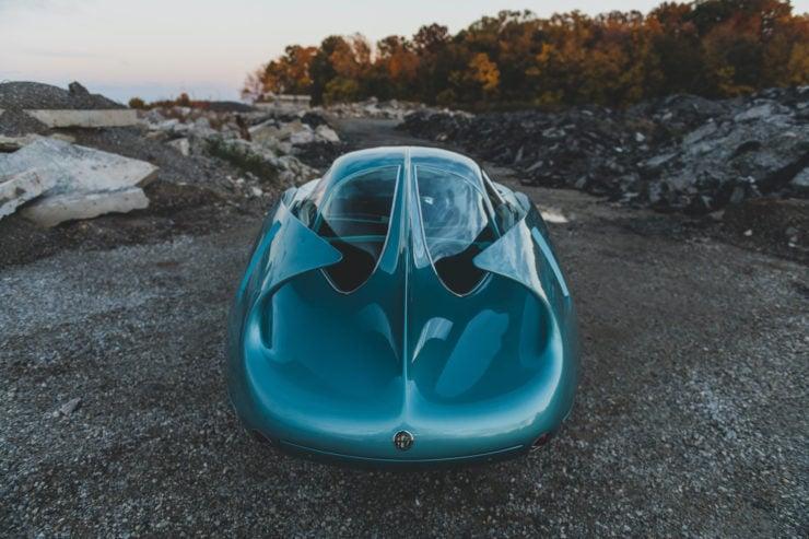 Alfa Romeo Berlina Aerodinamica Tecnica BAT 7 Fins