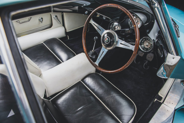 Alfa Romeo Berlina Aerodinamica Tecnica BAT 7 Interior