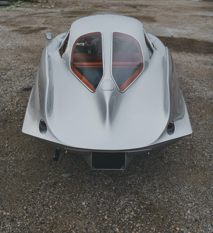 Alfa Romeo Berlina Aerodinamica Tecnica BAT 9d Fins