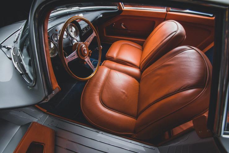 Alfa Romeo Berlina Aerodinamica Tecnica BAT 9d Interior