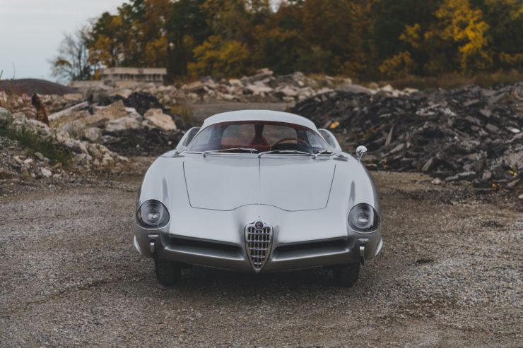 Alfa Romeo Berlina Aerodinamica Tecnica BAT 9d Nose