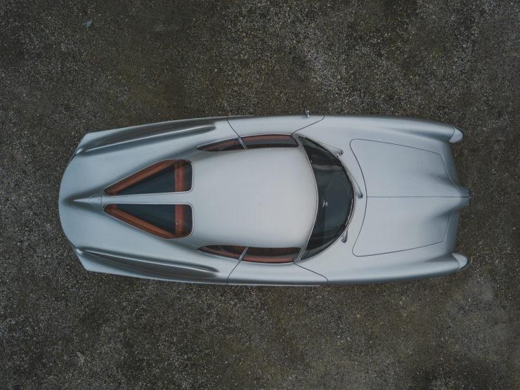 Alfa Romeo Berlina Aerodinamica Tecnica BAT 9d Overhead