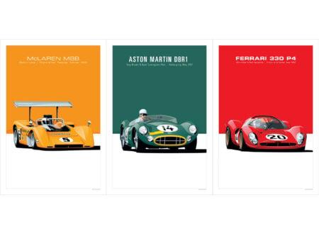 Arthur Schening Classic Car Poster Prints