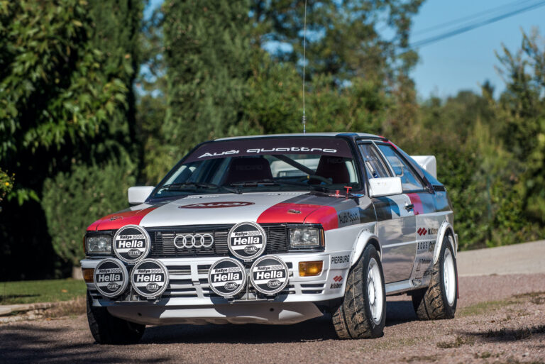 Ready To Race: 1981 Audi quattro Group 4 – A 1980s Rally Icon