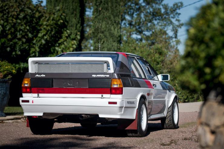 Audi quattro Group 4 Back