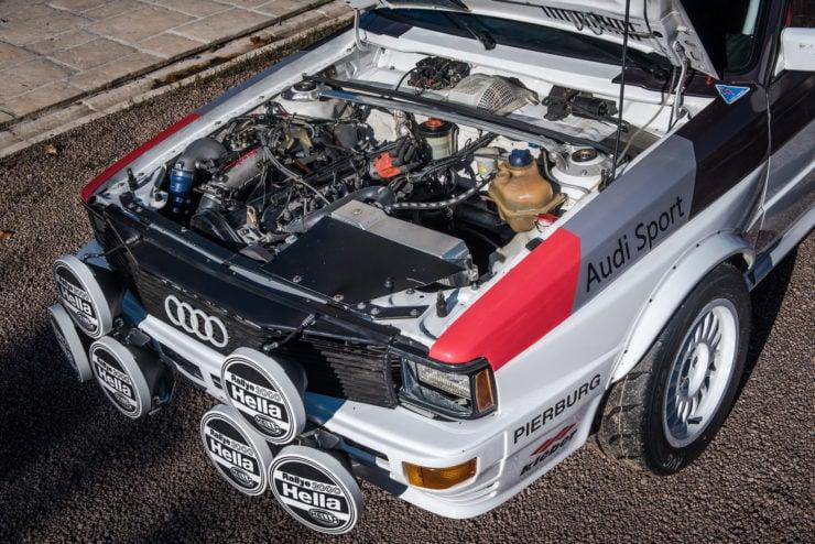 Audi quattro Group 4 Engine 2