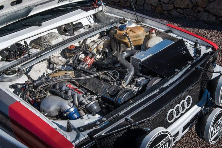 Audi quattro Group 4 Engine