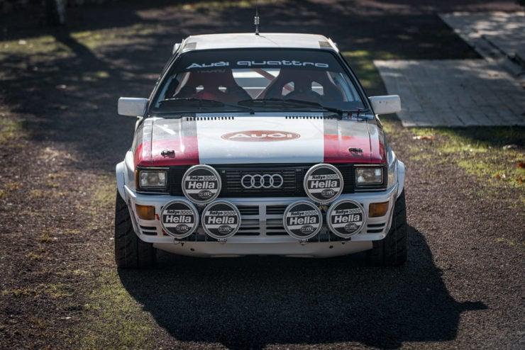 Audi quattro Group 4 Front
