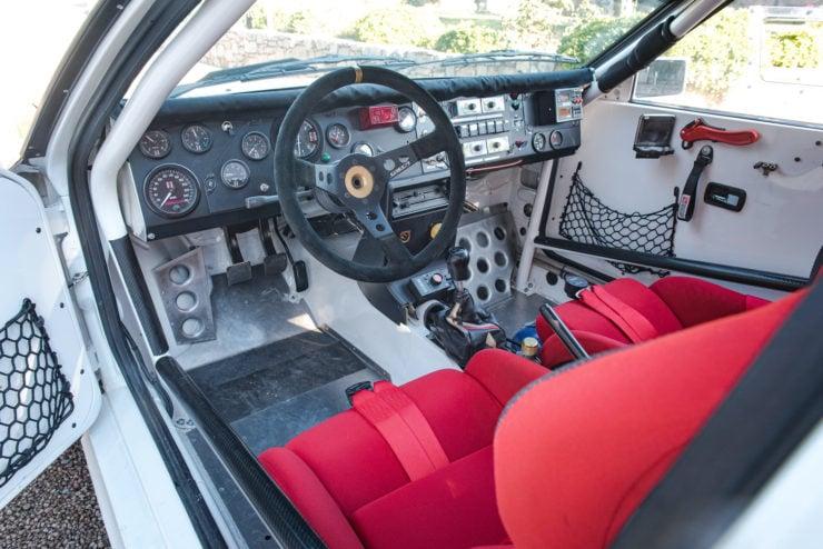 Audi quattro Group 4 Interior