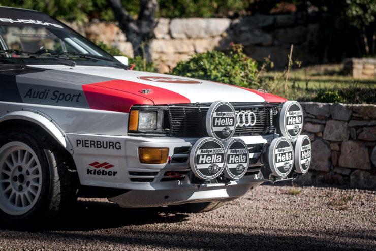 Audi quattro Group 4 Lights