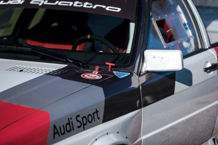 Audi quattro Group 4 Mirror