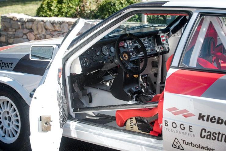 Audi quattro Group 4 Open Door