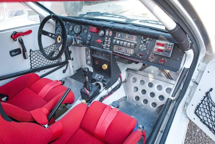 Audi quattro Group 4 Seats