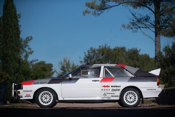 Audi quattro Group 4 Side