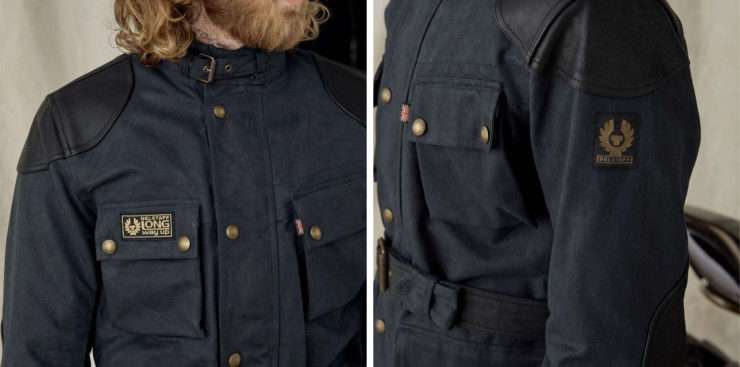Belstaff McGregor Pro Wax Cotton Jacket Details
