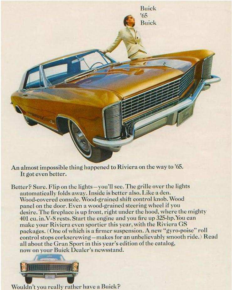 Buick Riviera Ad 1965