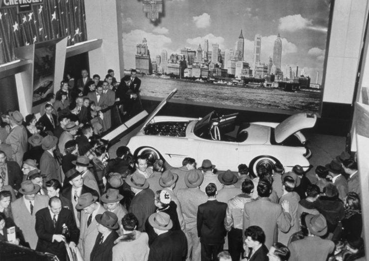 Chevrolet Corvette C1 first generation Motorama Waldorf Astoria