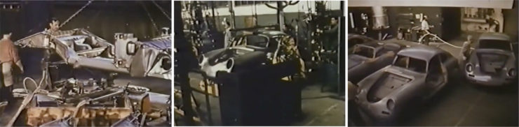 Documentary Porsche 356 Made by Hand Collage