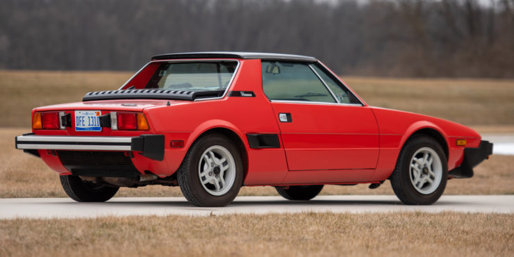Fiat Bertone X1/9 sports car