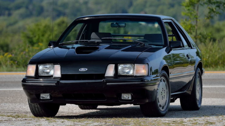 Ford Mustang SVO 11