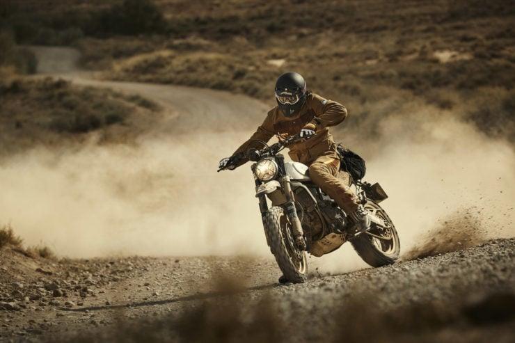 Fuel Rally Marathon Jacket - Motorcycle Scrambler 1