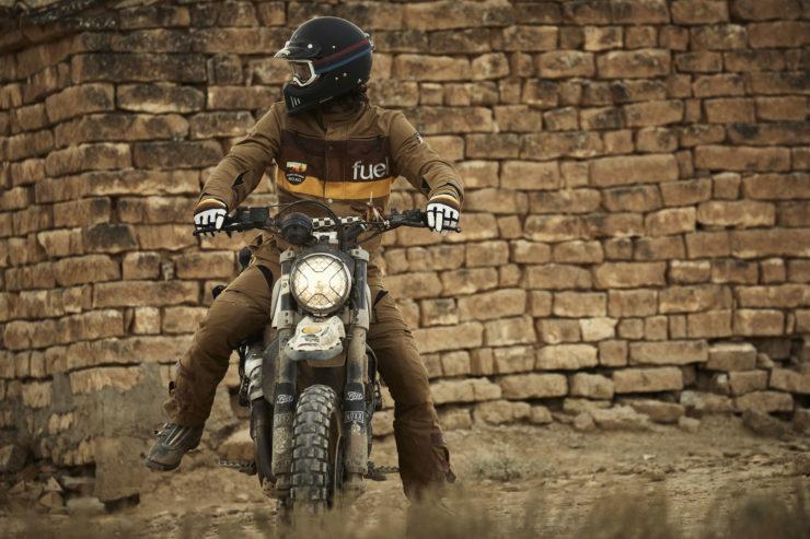 Fuel Rally Marathon Jacket - Motorcycle Scrambler 2