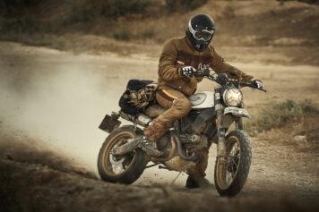 Fuel Rally Marathon Jacket - Motorcycle Scrambler