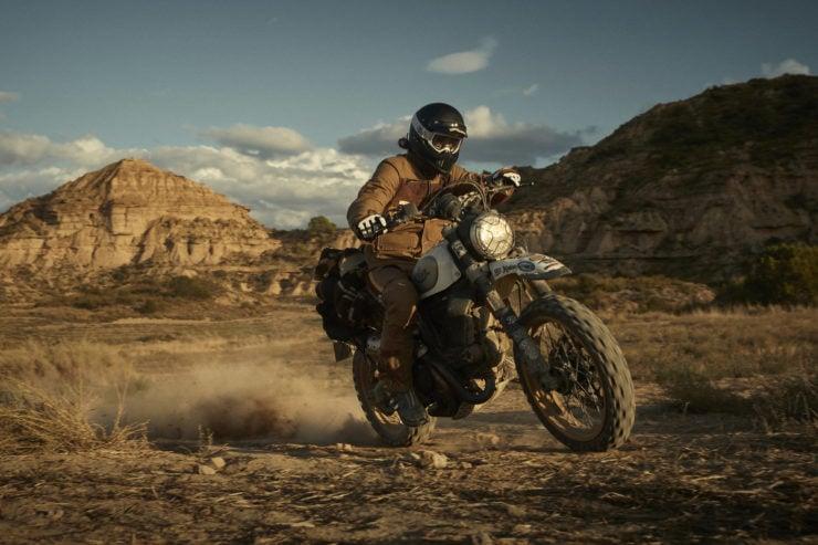 Fuel Rally Marathon Jacket - Motorcycle Scrambler 4