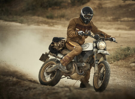 Fuel Rally Marathon Jacket - Motorcycle Scrambler