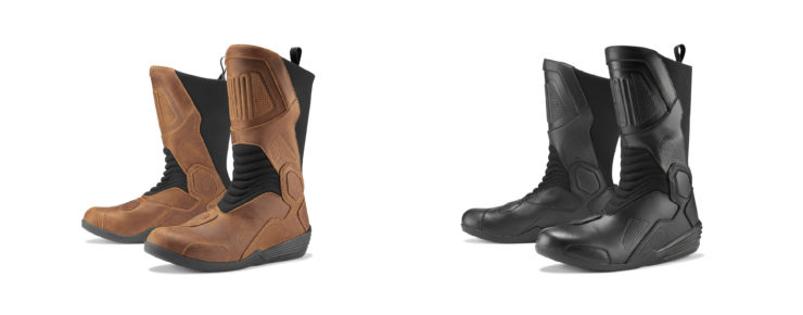 Icon Joker WP Boots Tan and Black