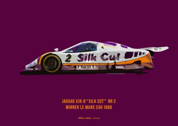 Jaguar XJR Poster