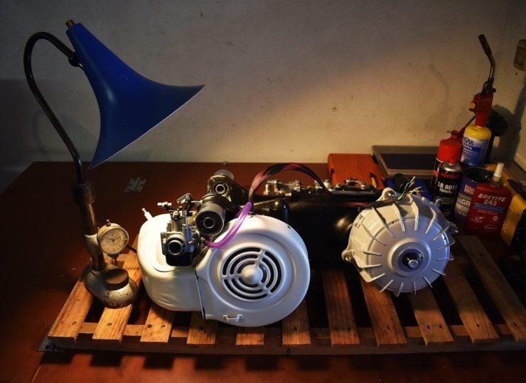 Lambretta Engine 2