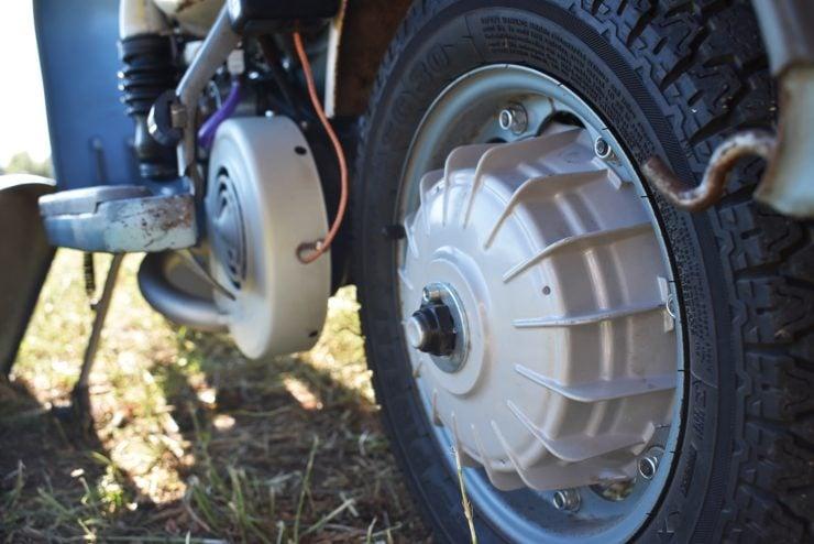 Lambretta TV 175 Series 3 Rear Drum Brake