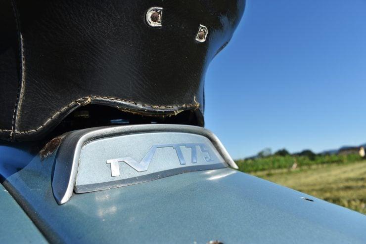 Lambretta TV 175 Series 3 Reqar Logo