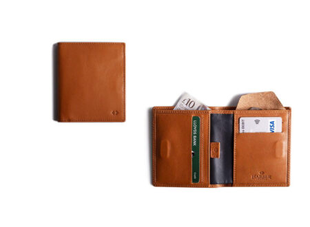 Leather Bifold Wallet with RFID Protection by Harber London