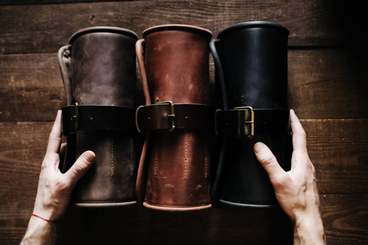 Leather Tool Roll by Kruk Garage 2