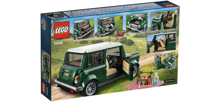 Lego Creator Expert Mini Cooper Box Back