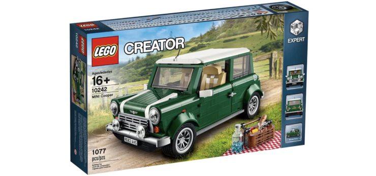 Lego Creator Expert Mini Cooper Box Front