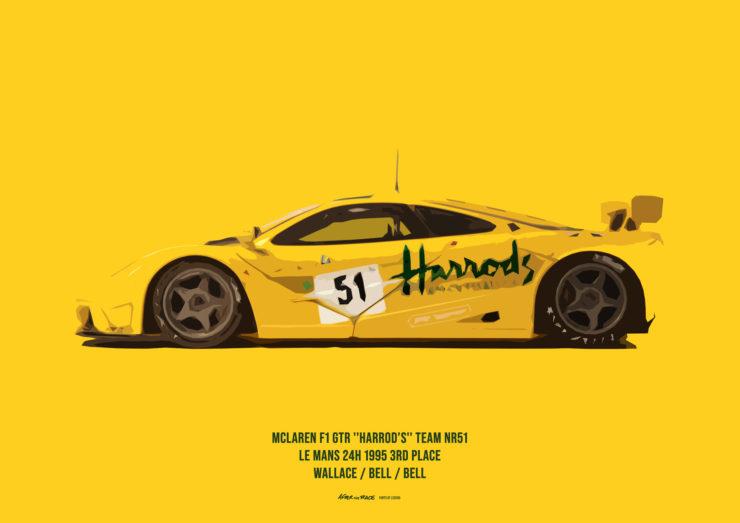 McLaren F1 Poster