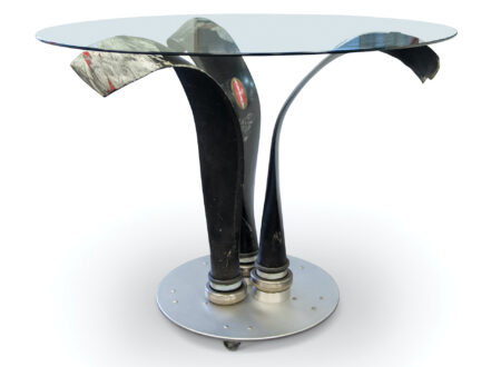 North American T-28 Trojan Propeller Blade Table