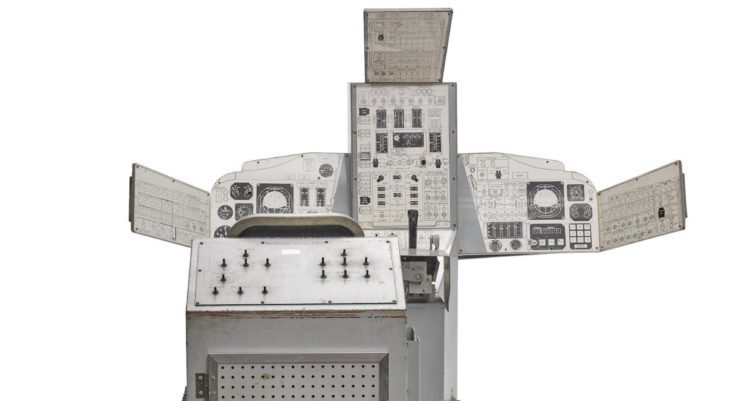 Original NASA Gemini 133P Trainer 2