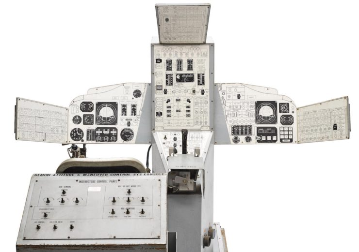 Original NASA Gemini 133P Trainer 5