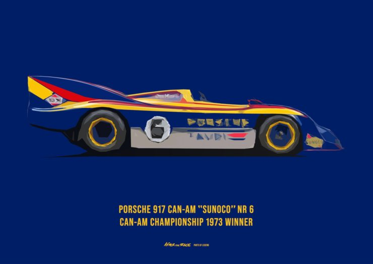 Porsche 917 Can Am Poster