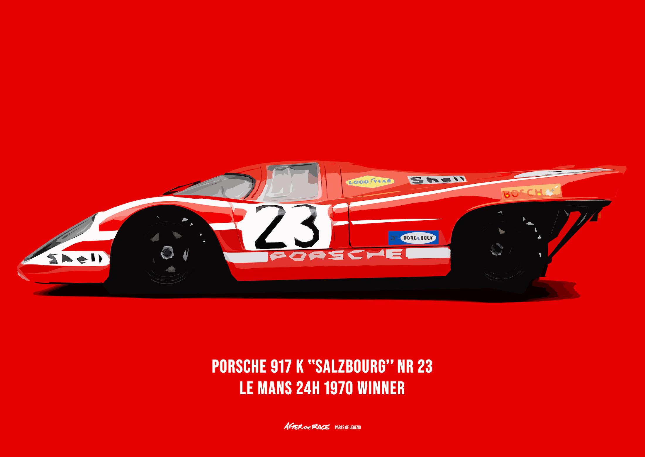 Porsche 917K Poster