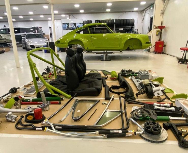 Rennsport Porsche 911