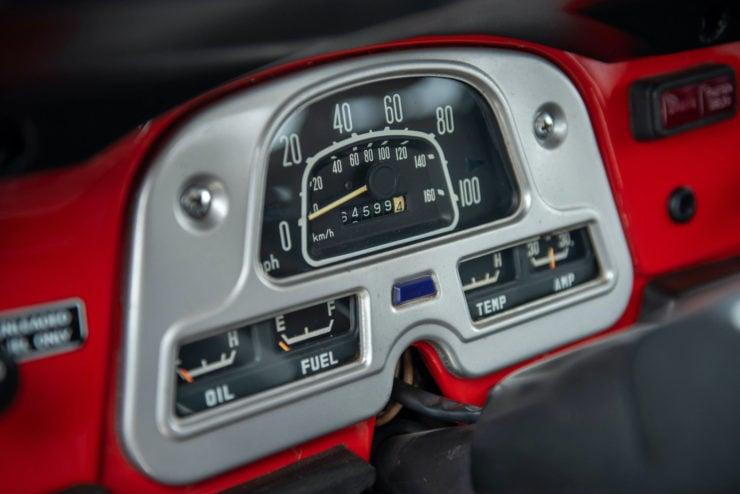 Toyota FJ40 Land Cruiser Gauges